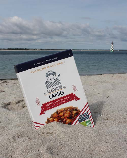 poelee-algue-dulse-haricot-blanc-tomate La Marmite de Lanig