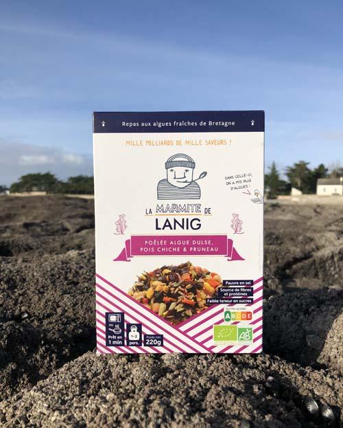 poelee-algue-dulse-pois-chiche-pruneau La Marmite de Lanig