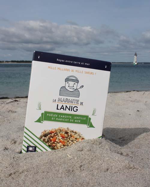 poelee-carotte-lentille-haricot-de-mer La Marmite de Lanig