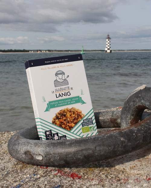 poelee-pois-casse-celeri-haricot-de-mer La Marmite de Lanig