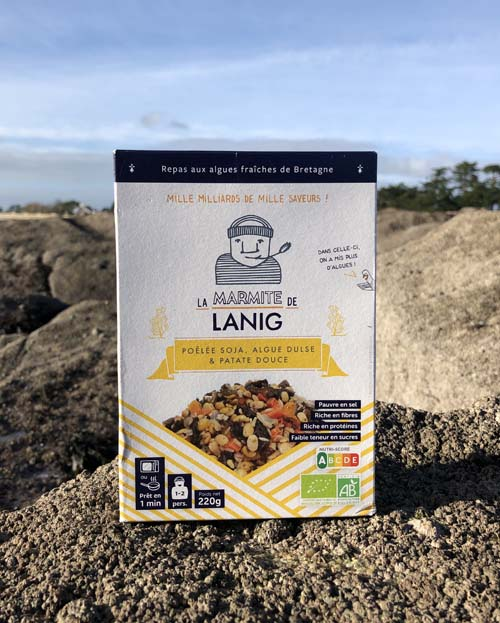 poelee-soja-algue-dulse-patate-douce La Marmite de Lanig